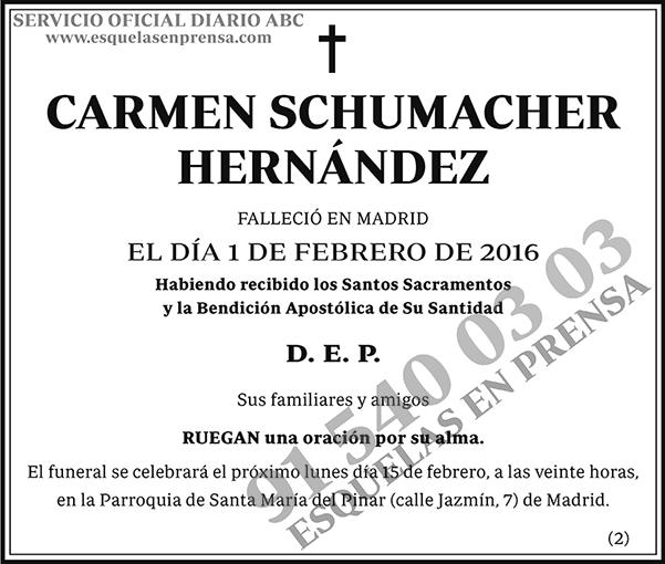 Carmen Schumacher Hernández